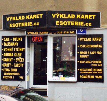 Výklad karet Praha